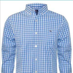 Vineyard Vines Slim Fit Tucker Shirt Sz L